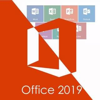 [Genuine] Microsoft Office 2019 - 1 PC For Windows Product Key