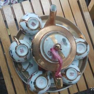 龙凤茶壶茶杯茶盘一套
