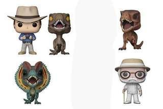 (Set) Jurassic Park Pop Funko