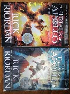 The trails of Apollo (The Dark Prophecy and The Hidden Oracle)