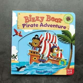 Baby Book - Slide and See - Bizzy Bear Pirate Adventure