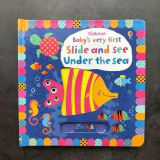 Slide and See Baby Book - Under the Sea