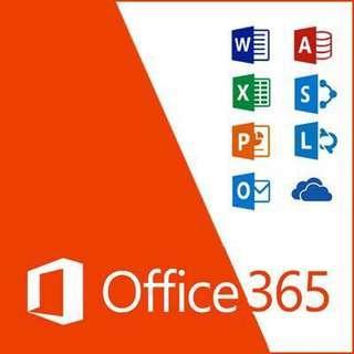 Microsoft Office 365/2016 ProPlus + 5TB OneDrive - Lifetime Subsription