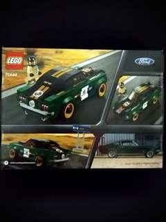 Lego Car 75884 1968 Ford Mustang