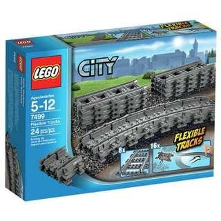 <DEREK> Lego City Flexible Tracks 7499