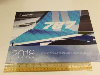 Boeing Calendar 2018