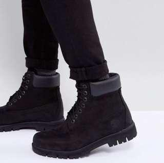Men's Black Timberlands