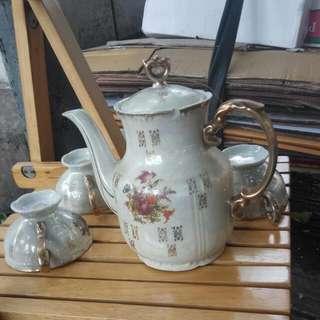 一套国外回流舊瓷茶具