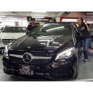 READY STOCK VAC READY!  Mercedes-Benz CLA-Class CLA180 AMG Line