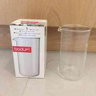 Bodum French Press Glass Replacement Jar / 3 Cup, 12 Ounce, .35 Liter