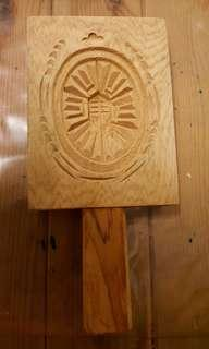 🚚 台灣檜木糕膜印
