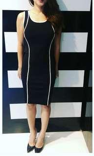GUESS? Marciano Black Pencil Dress