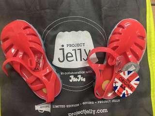 🚚 正品JuJu果凍鞋 草莓紅