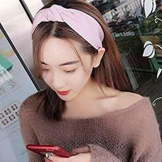 Korean Twisted Knot Headband