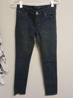 Bardot Black Denim Jeans Size 8