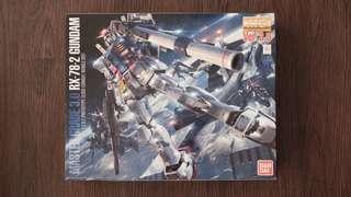 Rx 78-2 Gundam Master Grade 3.0