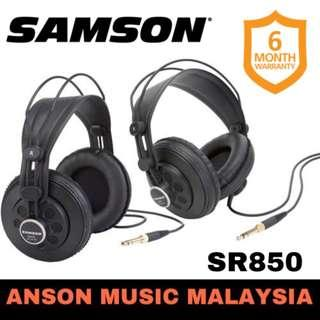 Samson SR850 Semi-Open-Back Studio Headphones, 2 Sets