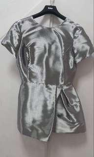Authentic Christian Dior Silver Dress