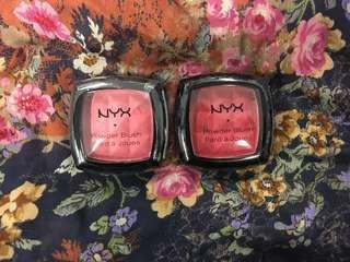 NYX blush 胭脂💓❤️