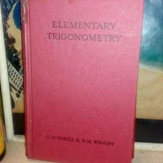 Buku matematik lama,1958..printed in Great Britain