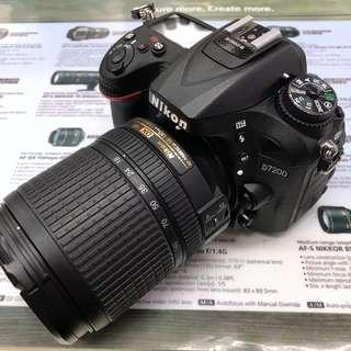Nikon D7200 + AFS 18-140mm VR (Bundle Price)