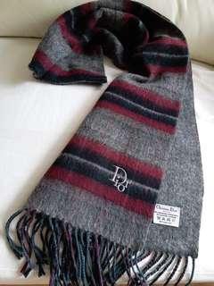 (加厚!超長!柔軟)Dior Vintage Scarf 圍巾頸巾