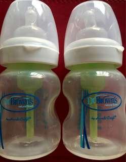 Dr. Brown Natural Flow Feeding Bottles 5oz.