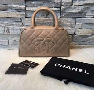 Chanel Vintage Boston Handbag