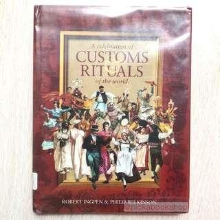 A Celebration of Customs & Rituals of the World Hardcover – Illustrated by Robert R. Ingpen