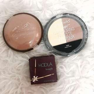 Bronzers and Contours to LET GO