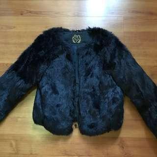 Faux fur jacket/coat