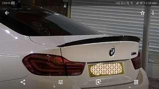 3D Design M3/M4 carbon lip amd spoiler