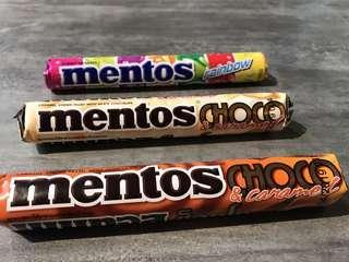Mentos Choco&Caramel (white chocolate & chocolate filling)