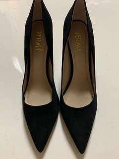 Black Heels by Verali Size 8