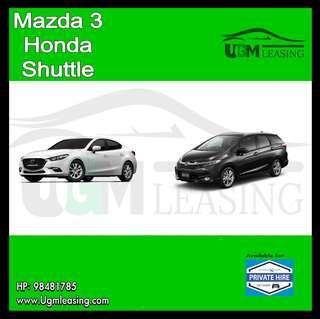 Honda Shuttle / Mazda 3