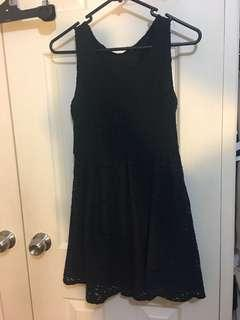 Size 8-10 Navy blue dress