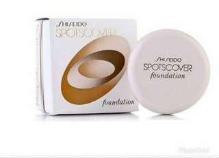 Shisheido spot cover foundation