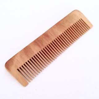 梨木梳 Wooden Hair Brush