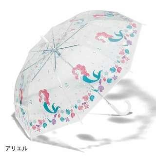 日本代購 【DISNEY】 Ariel 美人魚雨傘