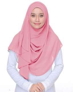 Double loop shawl n instant shawl