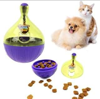 Cat toy: treat dispenser interactive toy puzzle