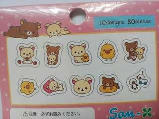 80pcs Japan Stickers
