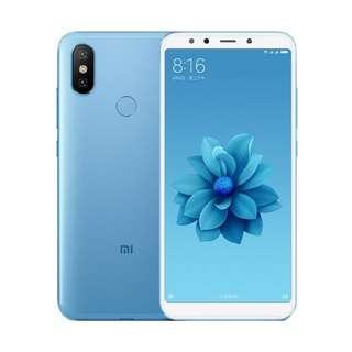 Xiaomi Mi 6X 4/64Gb Blue, Rose, Black Kredit Tanpa CC