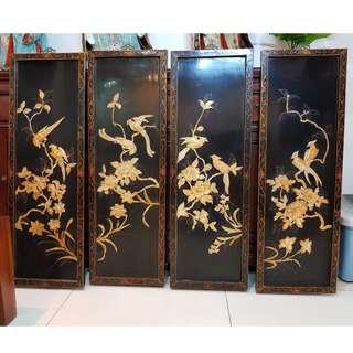 Art wood carvings