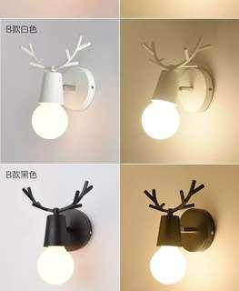 🚚 現貨鹿角壁燈