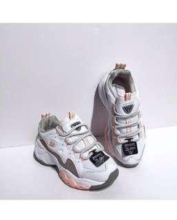 Skechers D'Lites 3 'White / Pink'