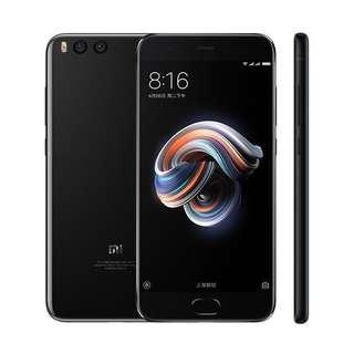 Xiaomi Mi Note 3 Black [128GB/ 6GB] Kredit Mudah