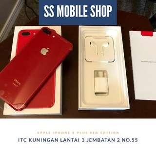 Apple iPhone 8 Plus 256 GB Smartphone - Red Edition