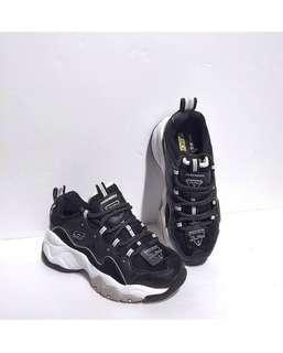 Skechers D'Lites 3 'Black / White'