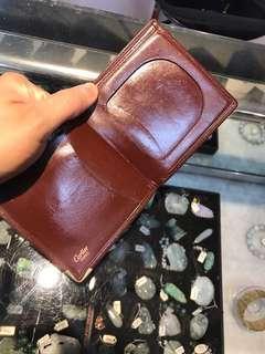 🚚 卡蒂亞Cartier正品短夾瑕疵出清價600